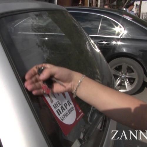 Более 200 темиртауских автовладельцев уже ездят по городу с наклейками на лобовом стекле: «Я не даю взяток!»
