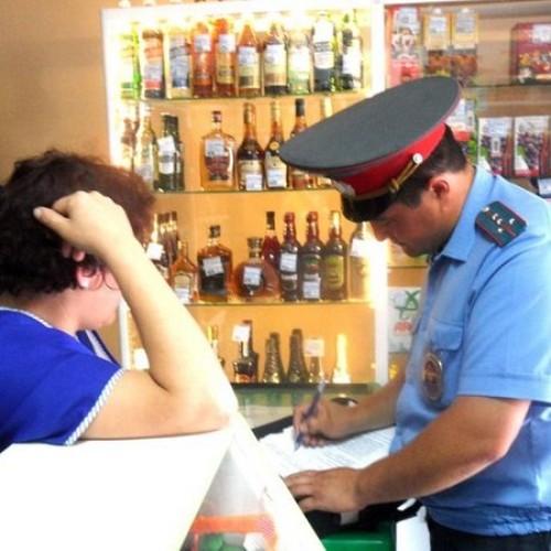 1000 МРП штрафа за продажу алкоголя без лицензии
