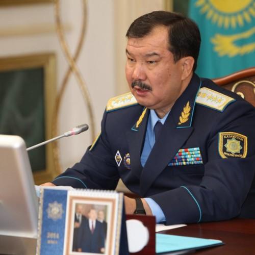 Более 5,5 тысячи следователей и дознавателей наказаны в 2015 году — Даулбаев