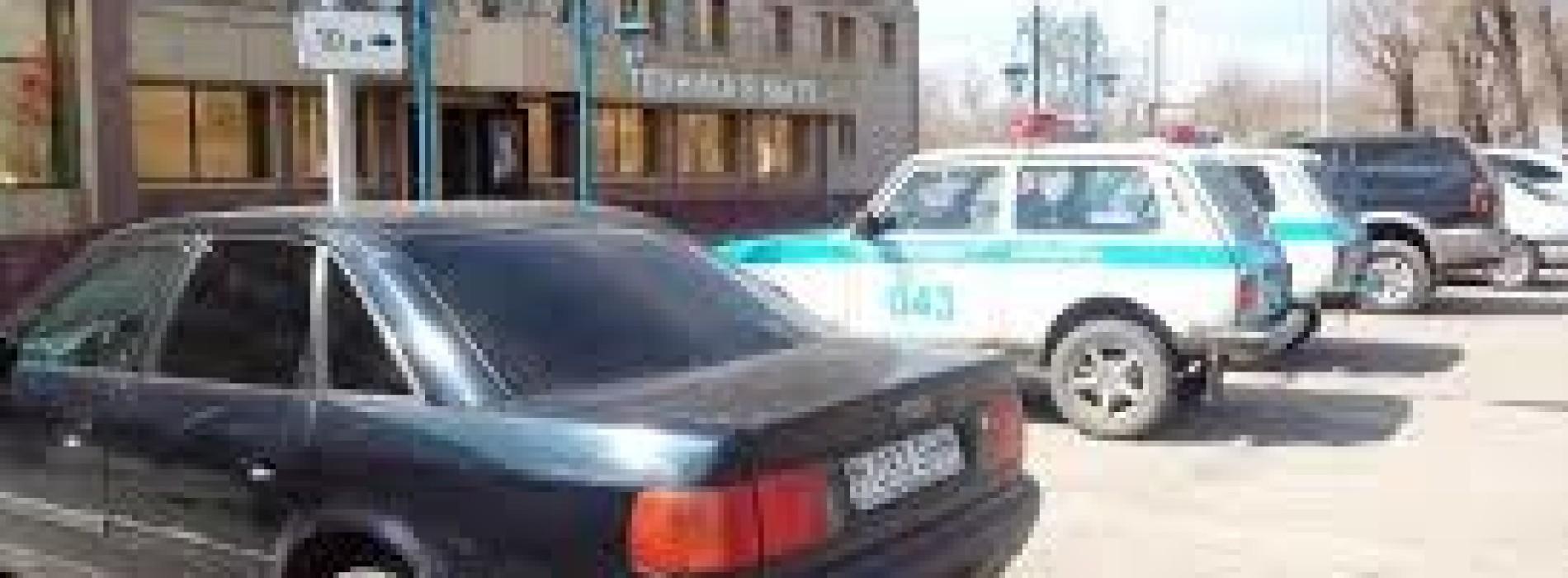 В Акмолинской области оштрафовали водителя служебного автомобиля