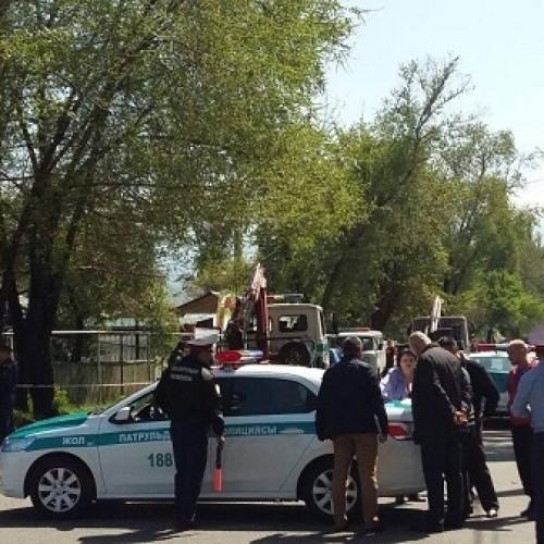 Авария по вине полицейского произошла в южной столице