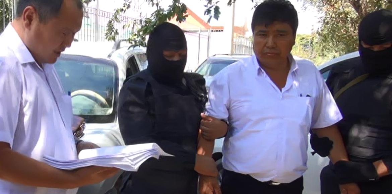 В Кызылординской области аким задержан с поличным