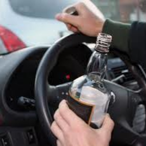 Пьяный аким села разъезжал на авто по городу Курчатову