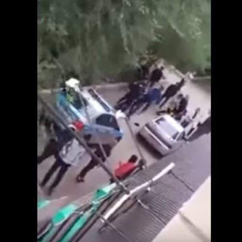 В Аксае произошла драка с полицейскими