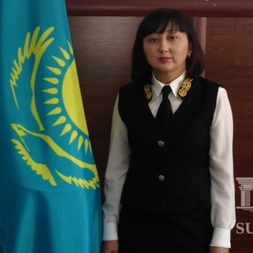 Единая форма одежды для сотрудников суда введена в Алматинской области