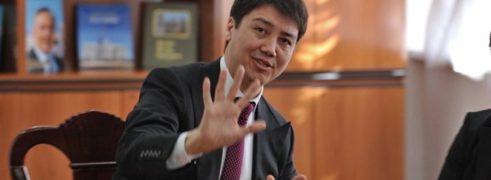 Вице-президентом КМГ стал министр «Патамушта»