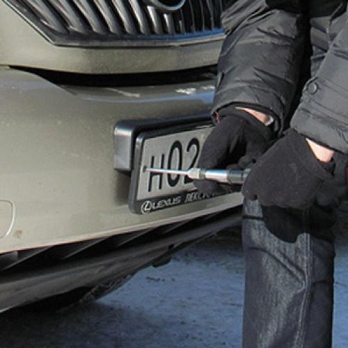 Правомерно ли снятие номеров с автомобилей после ДТП