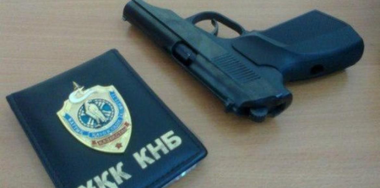 Из Академии Погранслужбы КНБ похитили 10 боевых пистолетов
