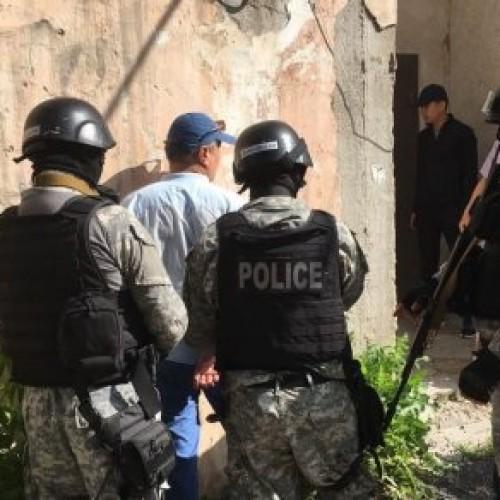 Появились фото и видео спецоперации КНБ и МВД РК