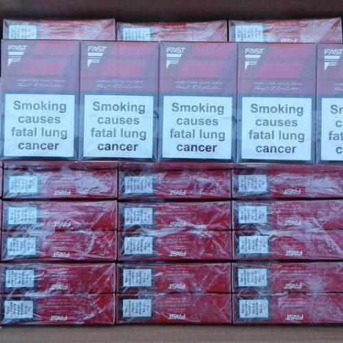 Попытка реализации крупной партии контрафактных сигарет пресечена в Алматы