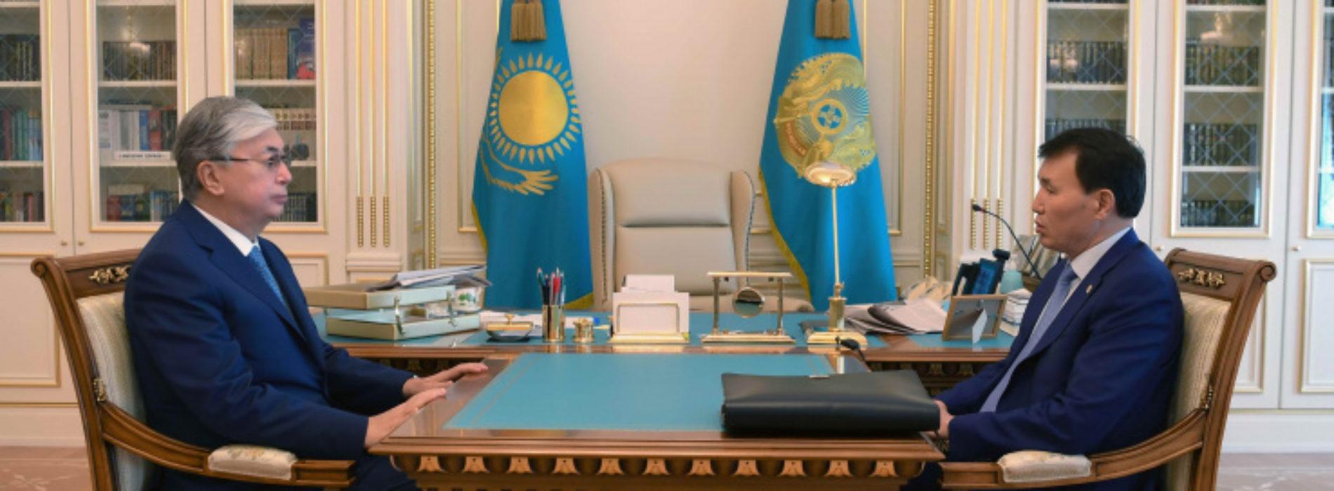 Токаев указал Шпекбаеву на важность отставки руководителей госорганов за коррупцию подчиненных