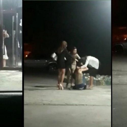Опубликовано видео драки девушек в Актау