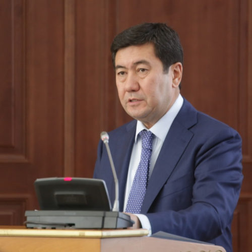 Ерлан Кошанов возглавил Администрацию Президента