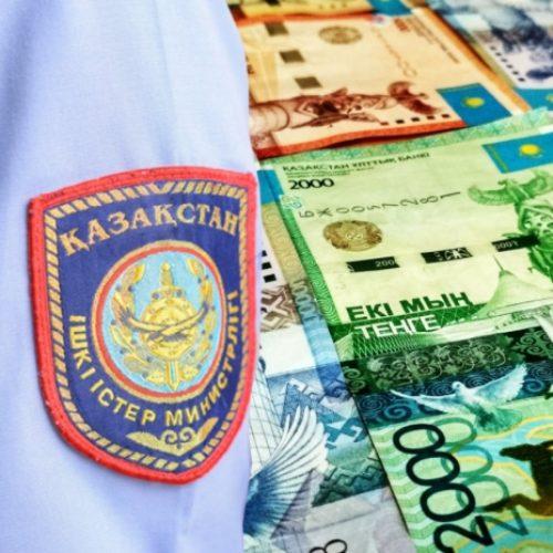 В вымогательстве взятки подозревается сотрудник УСБ полиции Шымкента