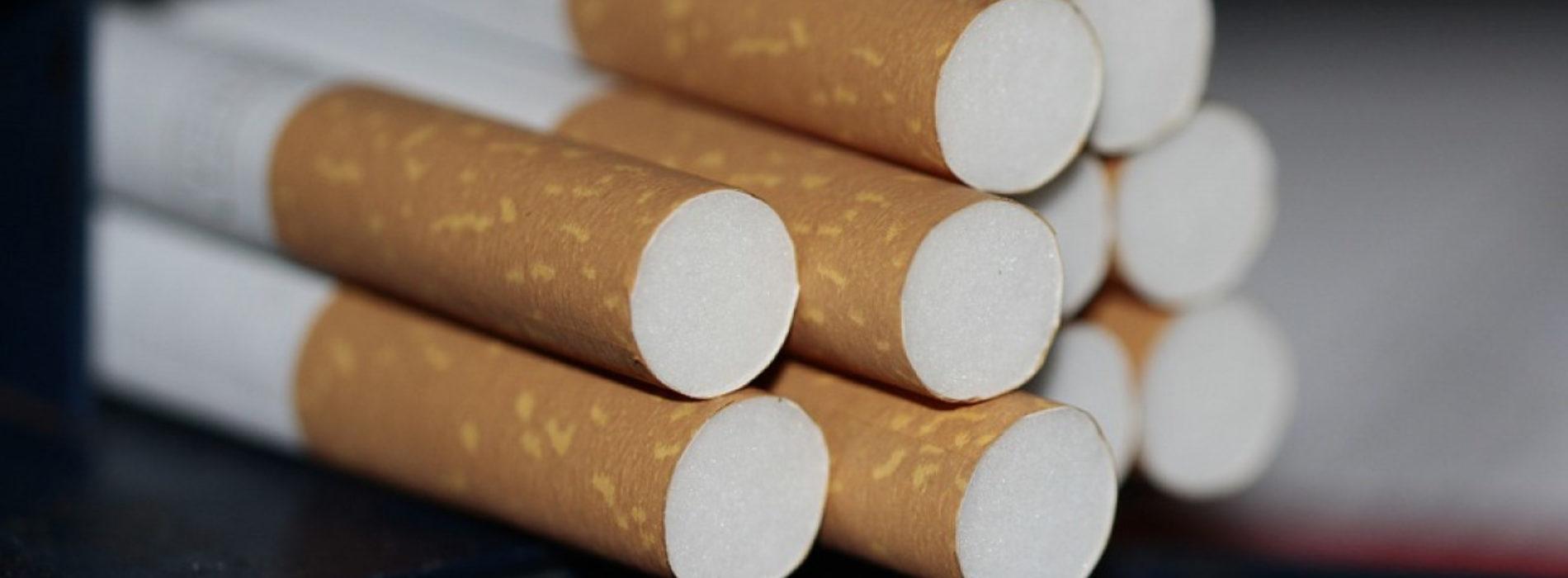 1 408 блоков контрабандных сигарет задержали на Хоргосе