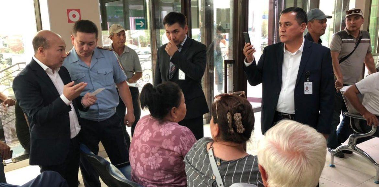 В Актобе миграционный ЦОН  предложили передать в «Правительство для граждан»