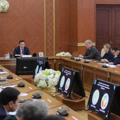 Пресекать жестко коррупционные факты поручил Женис Касымбек