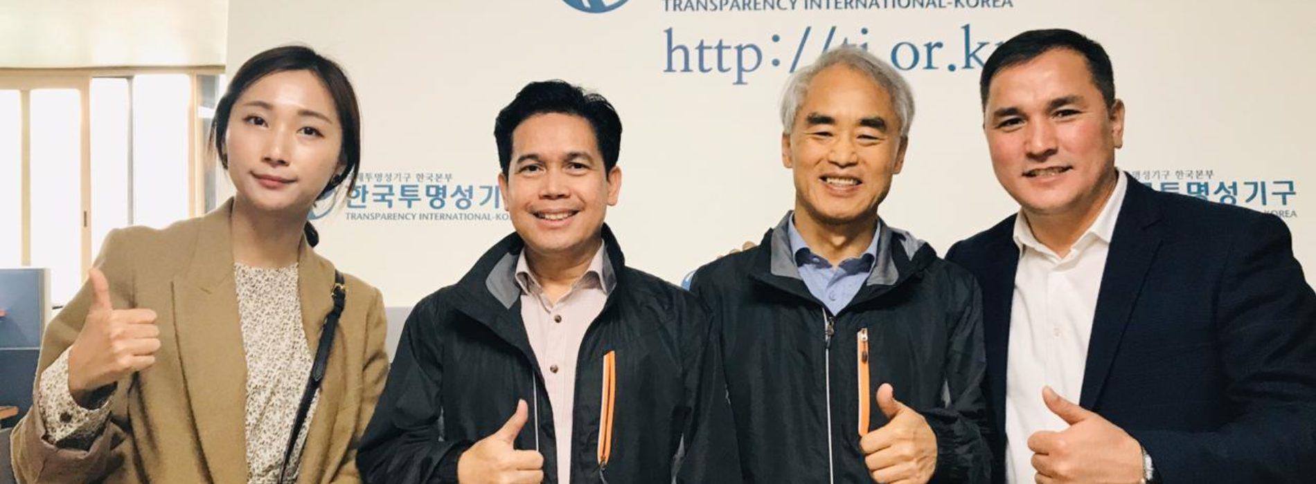 Корейские общественники, ведущие борьбу с коррупцией высоко оценили казахстанский опыт