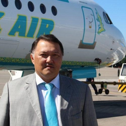 Жумасултанов остался единственным учредителем авиакомпании Bek Air