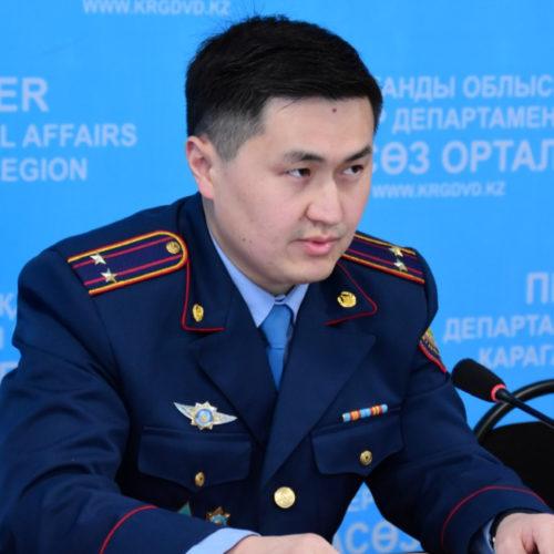 Первый случай ареста за пьяную езду зафиксировали в Караганде