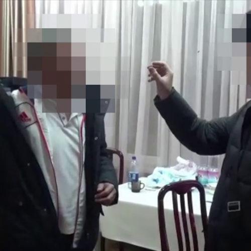 Появилось видео задержания экс-акима Алатауского района Алматы