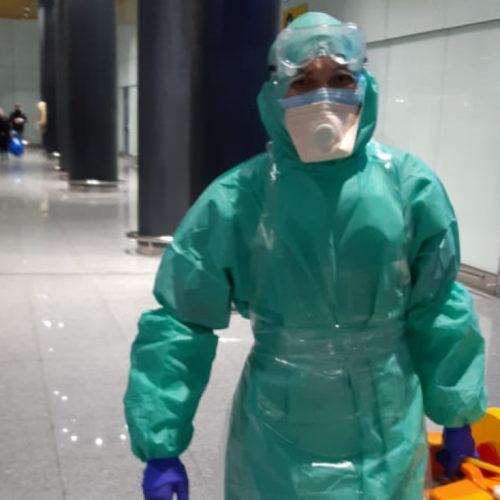 В Алматы усилен санитарно-карантинный контроль над всеми международными рейсами