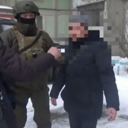 Появилось видео задержания сотрудников акимата ВКО