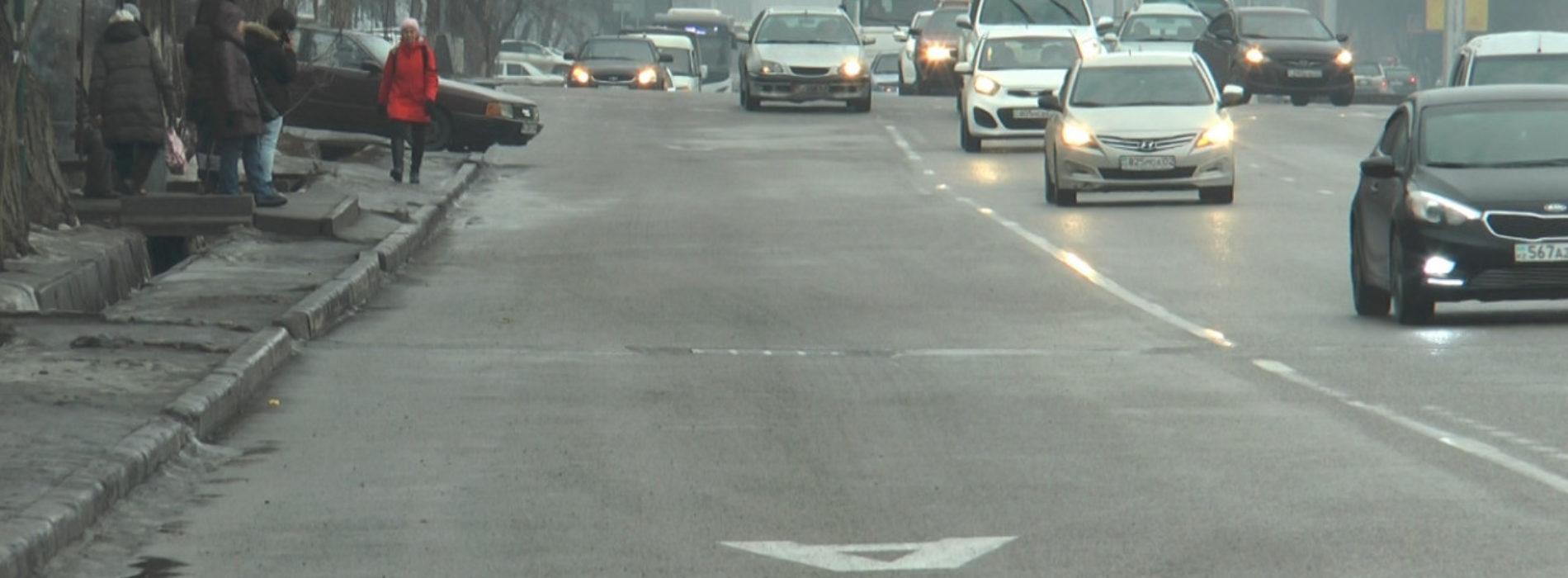 Полиция Алматы составила рейтинг дорог с «выделенками», где чаще всего нарушают