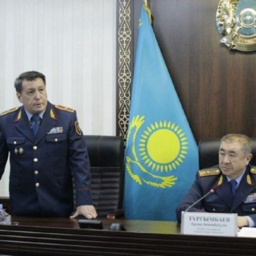Назначен начальник полиции Жамбылской области