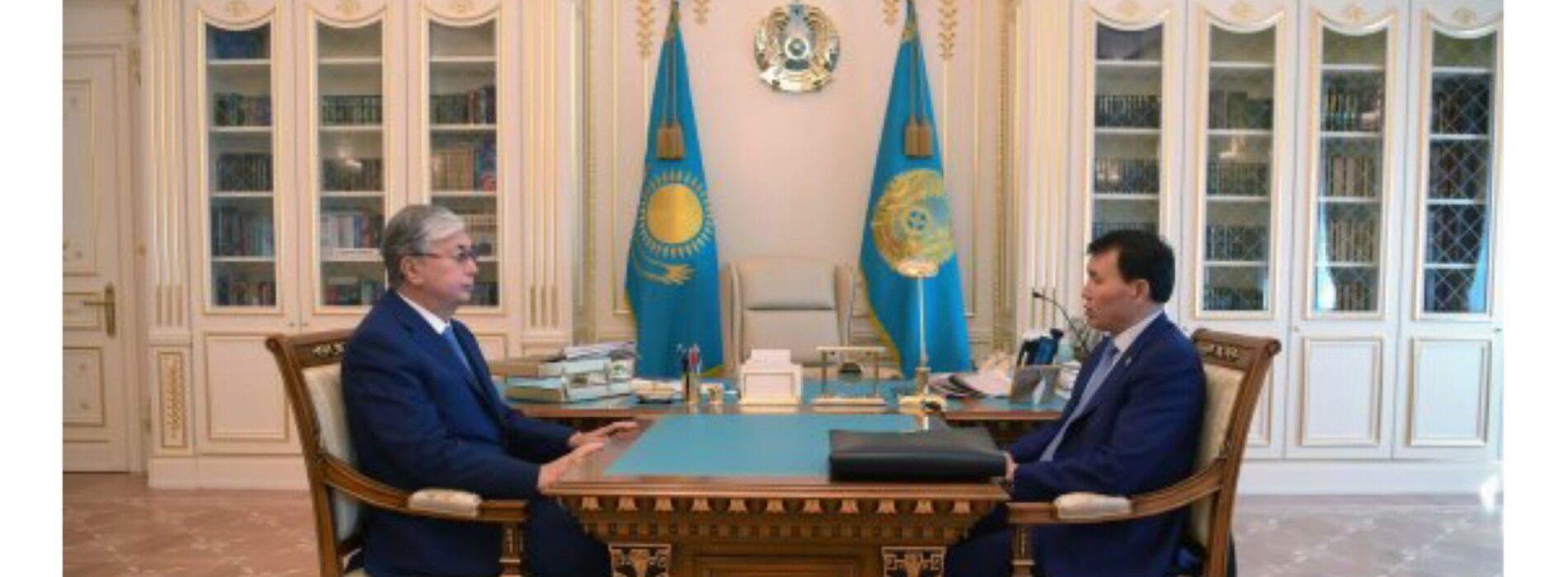 Шпекбаев отчитался по поручениям Президента