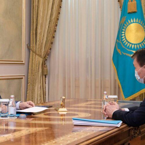 Токаев провел встречу с главой Агентства по противодействию коррупции