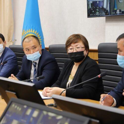 «Первый антикоррупционный Медиа центр» провел прямой эфир совместно с представителями Министерства Финансов РК